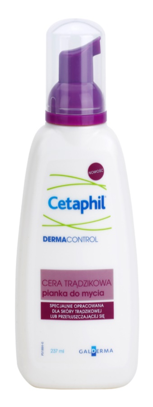 Cetaphil DermaControl Reinigungsschaum für fettige Haut mit Neigung zu Akne