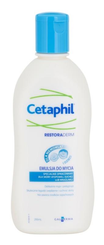 Cetaphil RestoraDerm mycí emulze pro děti od narození