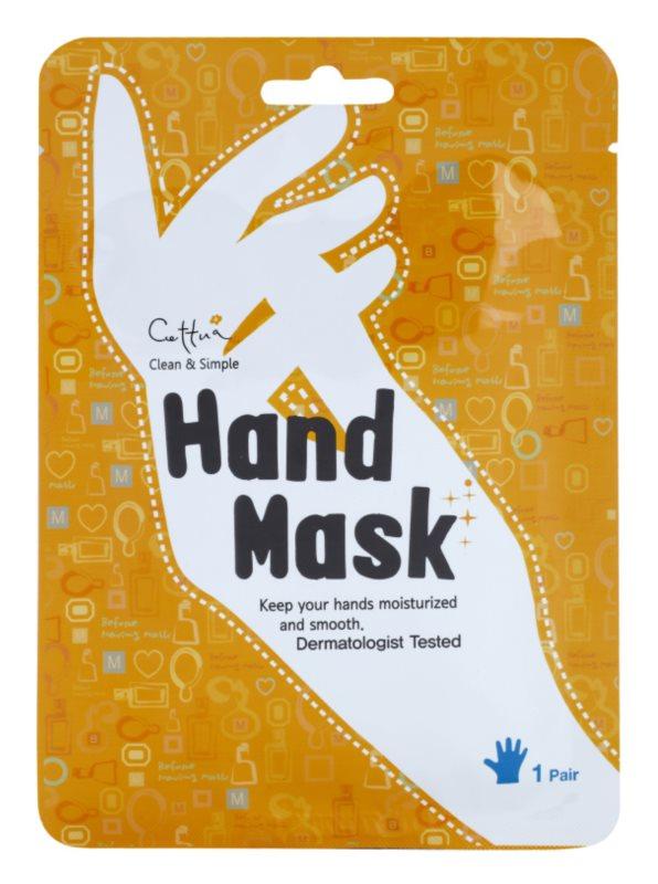 Cettua Clean & Simple hranjiva maska za ruke