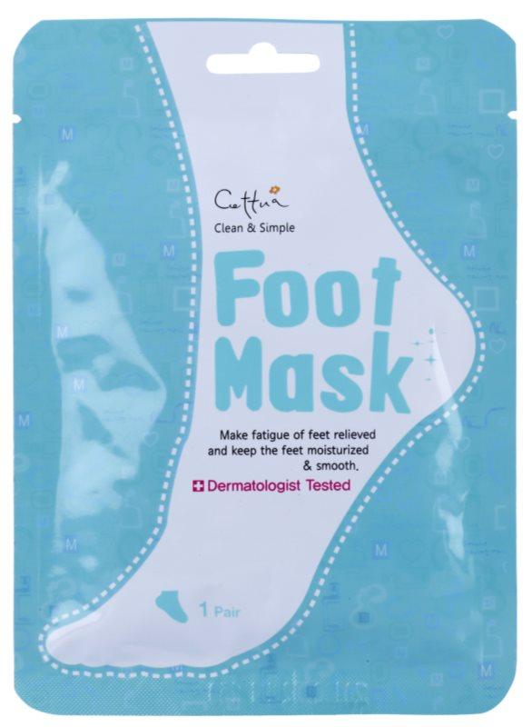 Cettua Clean & Simple hidratantna maska za stopala