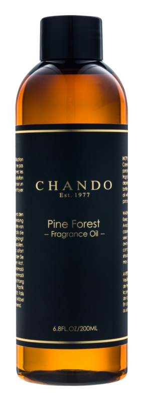 Chando Fragrance Oil Pine Forest náplň do aróma difuzérov 200 ml