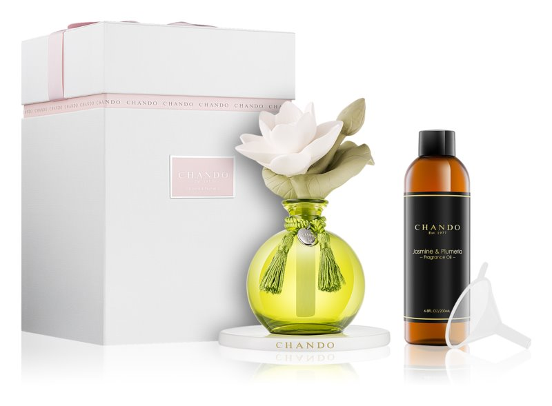 Chando Myst Jasmine & Plumeria aroma difuzér s náplní 200 ml