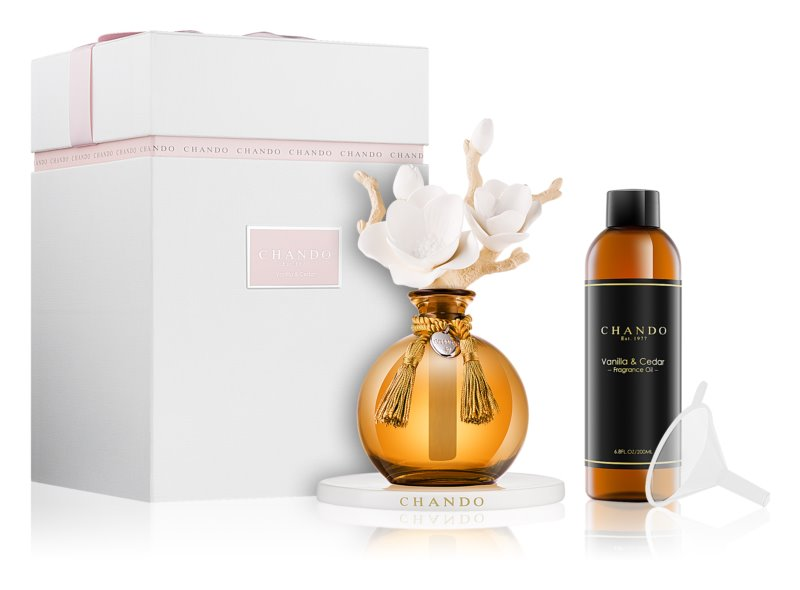 Chando Myst Vanilla & Cedar aroma difuzér s náplní 200 ml I.