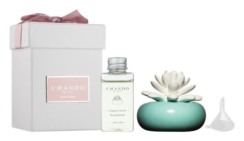 Chando Blooming Blue Breeze Aroma Diffuser mit Nachfüllung 40 ml
