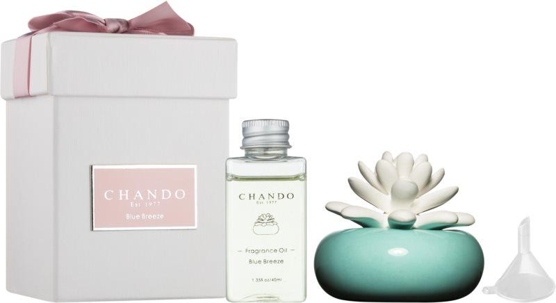 Chando Blooming Blue Breeze diffuseur d'huiles essentielles avec recharge 40 ml