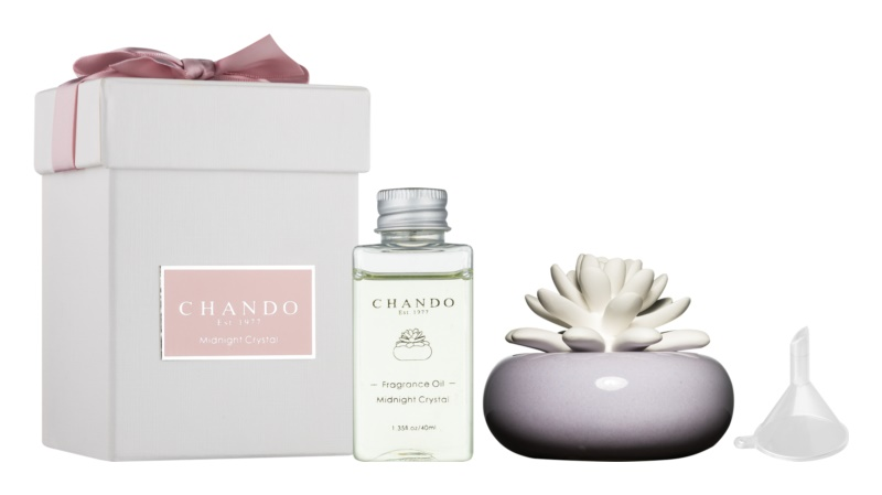 Chando Blooming Midnight Crystal aróma difúzor s náplňou 40 ml  (Violet)