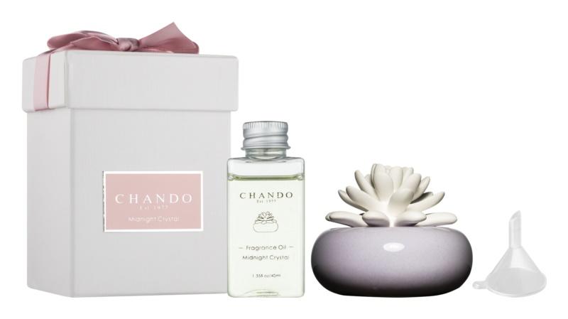 Chando Blooming Midnight Crystal aróma difúzor s náplňou 40 ml