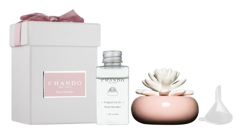 Chando Blooming Rose Garden dyfuzor zapachowy z napełnieniem 40 ml