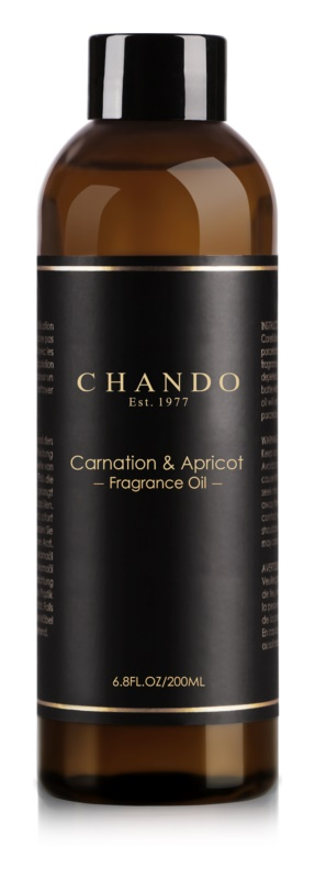 Chando Fragrance Oil Carnation & Apricot Refill for aroma diffusers 200 ml