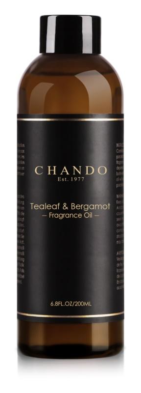 Chando Fragrance Oil Tealeaf & Bergamot napełnianie do dyfuzorów 200 ml