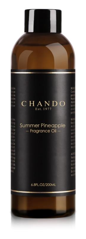 Chando Fragrance Oil Summer Pineapple Ersatzfüllung 200 ml