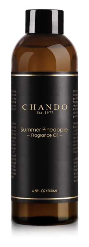 Chando Fragrance Oil Summer Pineapple Refill for aroma diffusers 200 ml