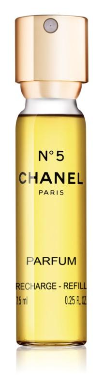 Chanel N°5 parfém pro ženy 7,5 ml náplň s rozprašovačem