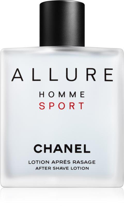 Chanel Allure Homme Sport losjon za po britju za moške 100 ml