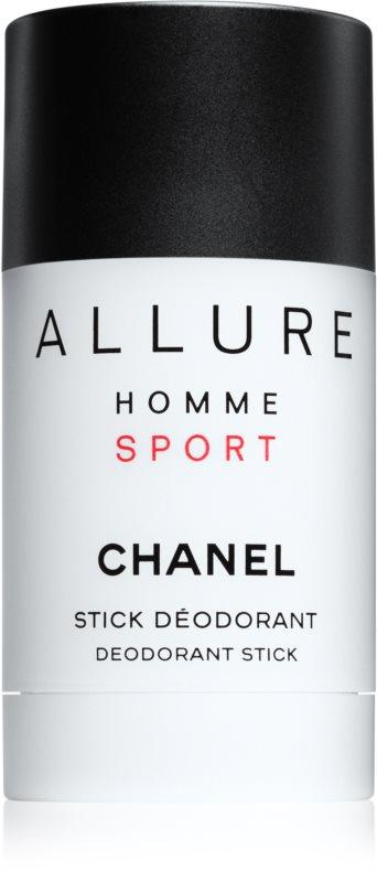Chanel Allure Homme Sport desodorizante em stick para homens 75 ml