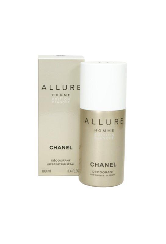 Chanel Allure Homme Édition Blanche deodorant Spray para homens 100 ml
