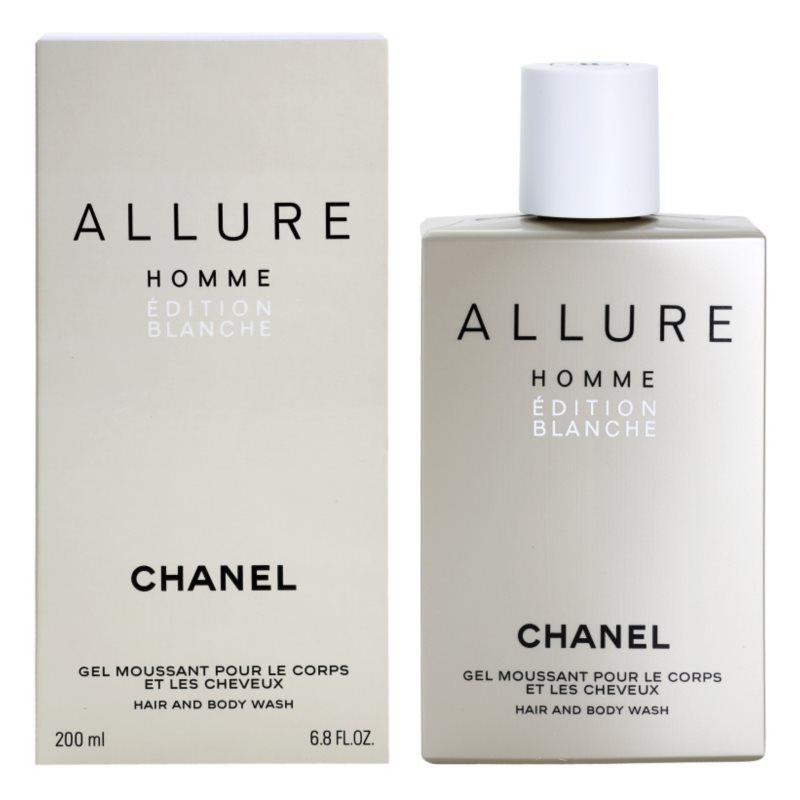 Chanel Allure Homme Édition Blanche Douchegel voor Mannen 200 ml