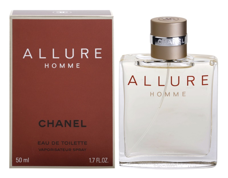 Chanel Allure Homme Eau de Toilette voor Mannen 50 ml