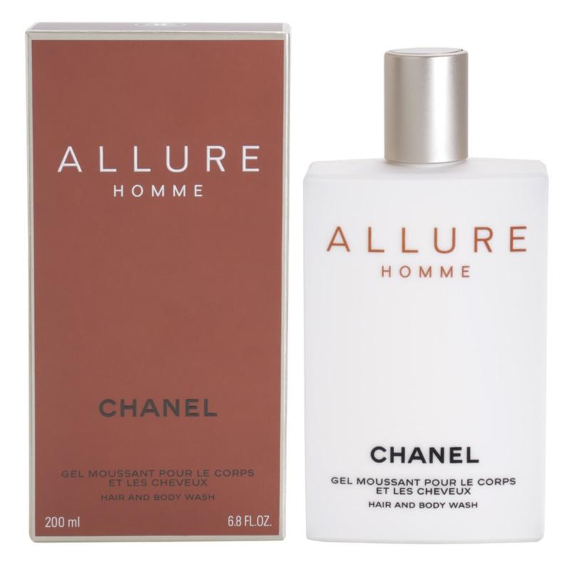 Chanel Allure Homme żel pod prysznic dla mężczyzn 200 ml