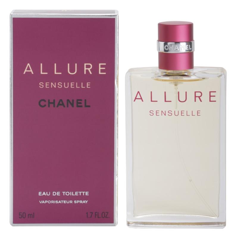 Chanel Allure Sensuelle eau de toilette nőknek 50 ml