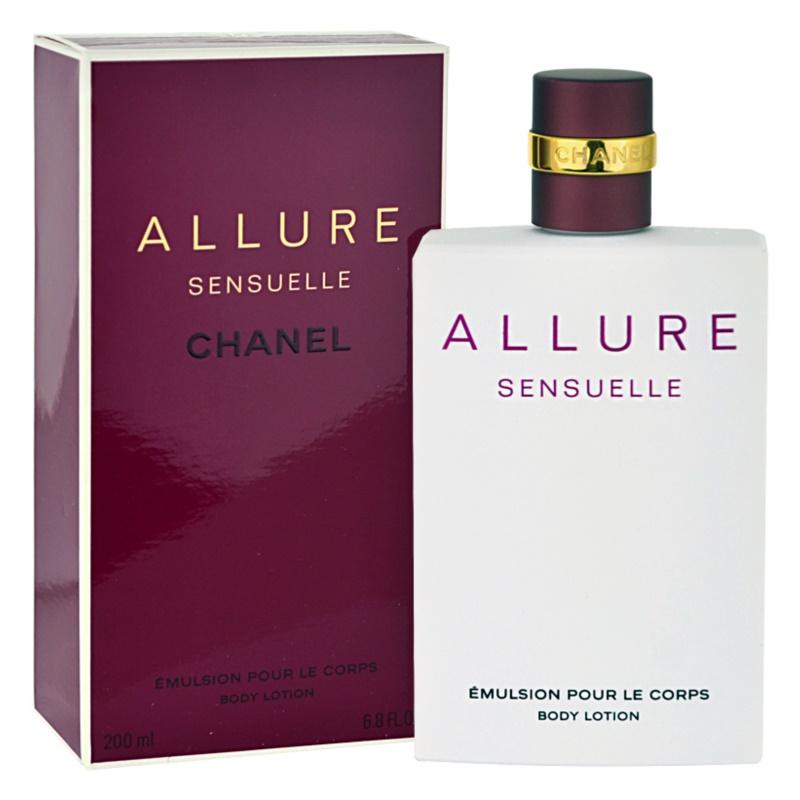 Chanel Allure Sensuelle testápoló tej nőknek 200 ml