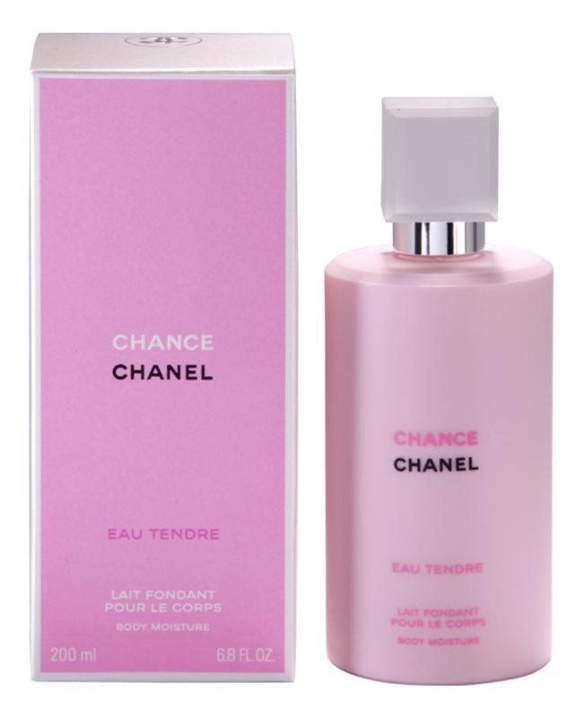 Chanel Chance Eau Tendre telové mlieko pre ženy 200 ml