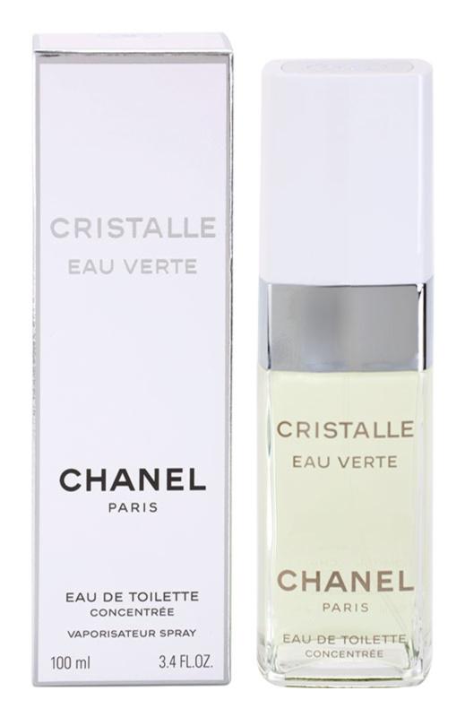 Chanel Cristalle Eau Verte Concentrée Eau de Toilette para mulheres 100 ml