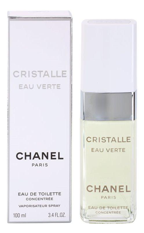 Chanel Cristalle Eau Verte Concentrée toaletna voda za žene 100 ml
