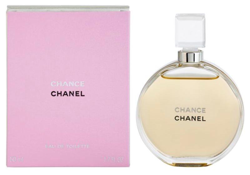 Chanel Chance Eau de Toilette para mulheres 50 ml sem vaporizador