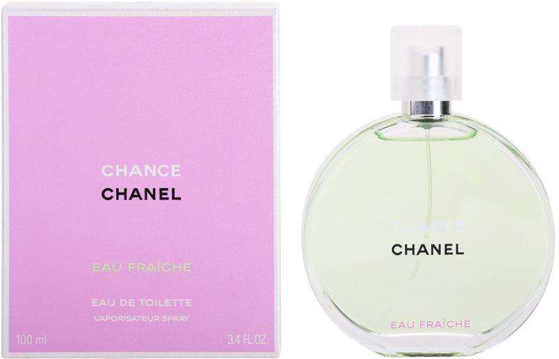 Chanel Chance Eau Fraîche Eau de Toilette for Women 100 ml 7bf285f25