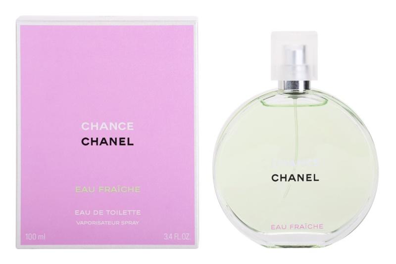 Chanel Chance Eau Fraîche Eau de Toilette für Damen 100 ml
