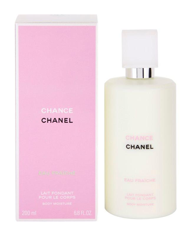 Chanel Chance Eau Fraîche tělové mléko pro ženy 200 g