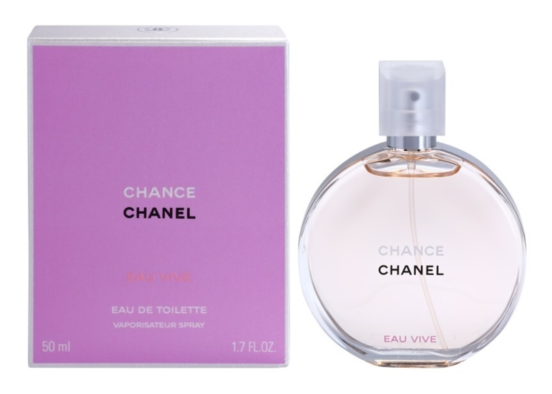 Chanel Chance Eau Vive Eau de Toilette für Damen 50 ml