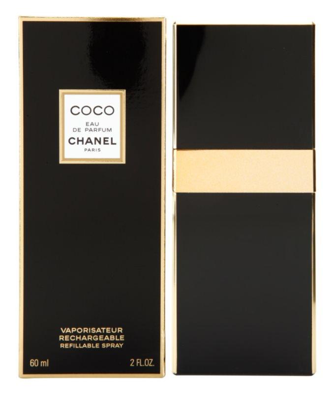 Chanel Coco parfumska voda za ženske 60 ml polnilna