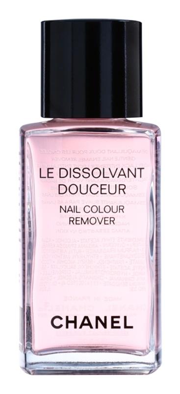 Chanel Le Dissolvant Douceur odlakovač na nechty s arganovým olejom