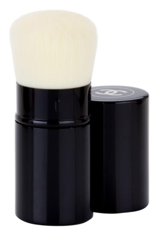 Chanel Les Beiges pensula pentru aplicarea pudrei pachet pentru calatorie