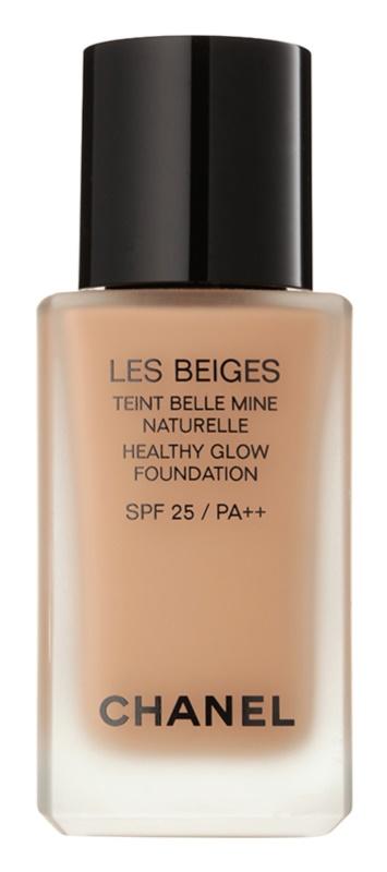 Chanel Les Beiges élénkítő make-up a természetes hatásért SPF 25