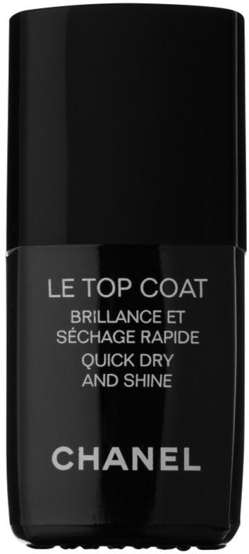 Chanel Le Top Coat zaščitni  nadlak za nohte s sijajem