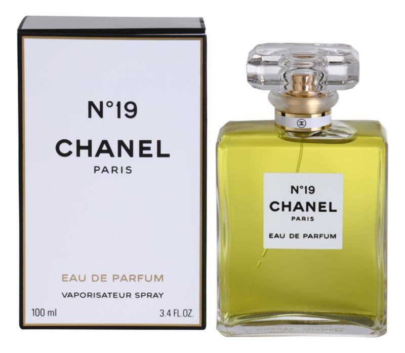 Chanel No.19 eau de parfum pentru femei 100 ml