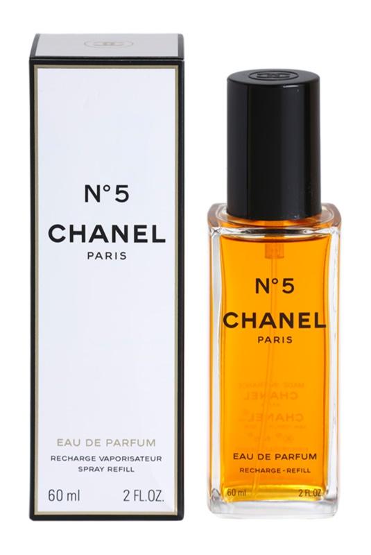 Chanel N°5 eau de parfum pentru femei 60 ml refill cu vaporizator