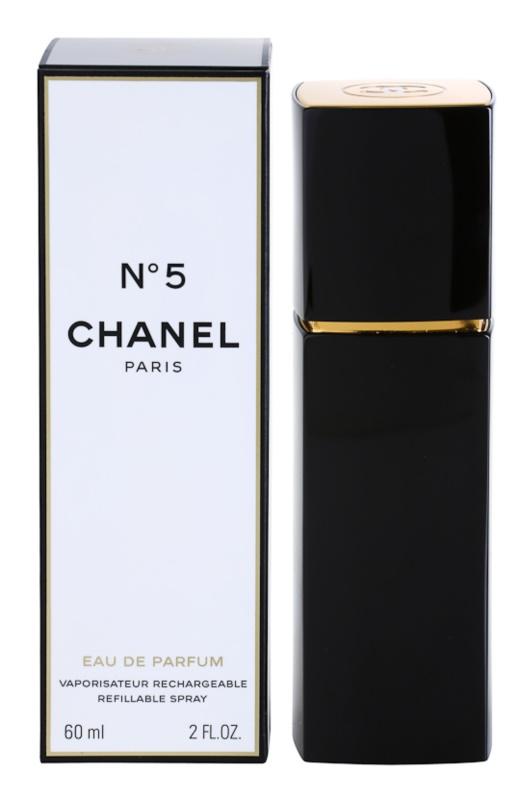 Chanel N°5 eau de parfum pentru femei 60 ml reincarcabil
