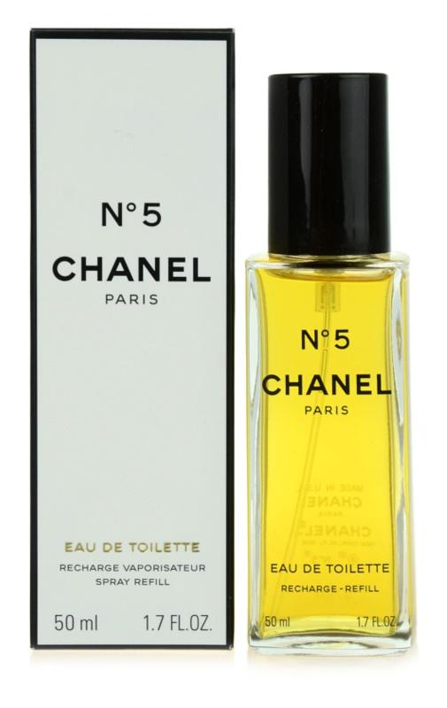 Chanel N°5 Eau de Toilette for Women 50 ml Refill