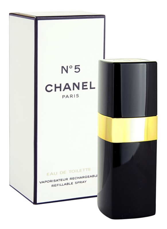 Chanel N°5 Eau de Toilette for Women 50 ml Refillable