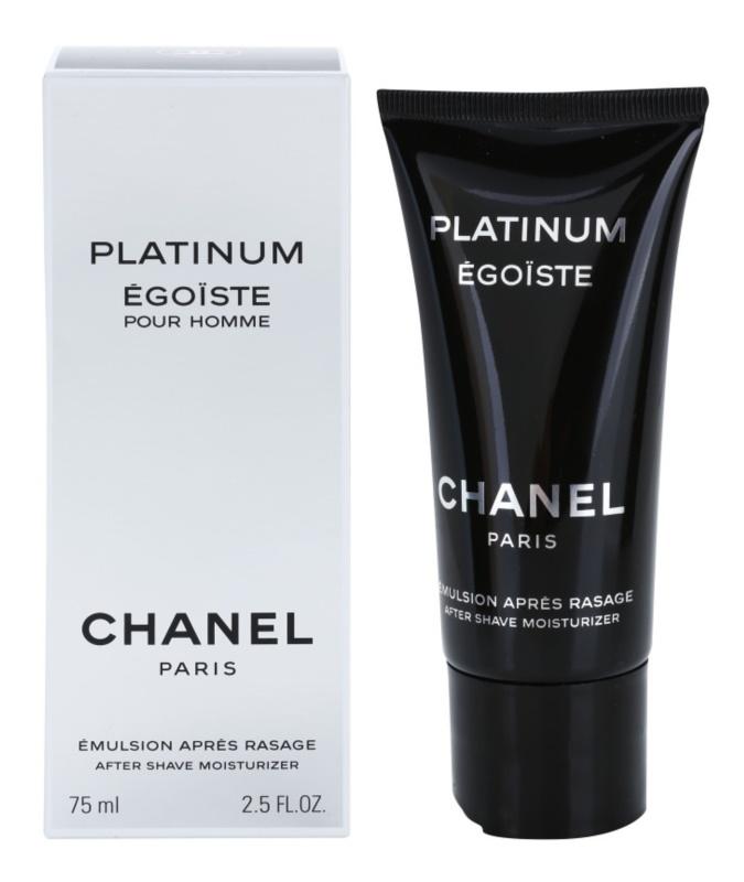 Chanel Égoïste Platinum after shave emulsie pentru barbati 75 ml