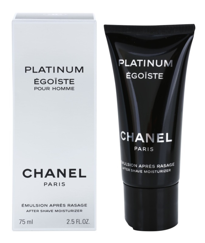 Chanel Egoiste Platinum After Shave Emulsion for Men 75 ml