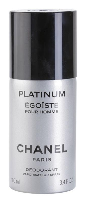 Chanel Égoïste Platinum Deo Spray for Men 100 ml