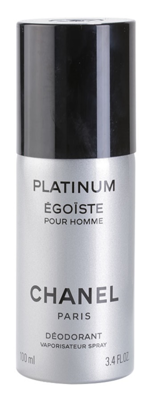 Chanel Égoïste Platinum déo-spray pour homme 100 ml