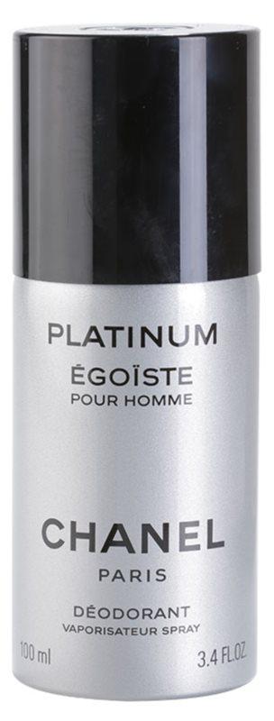 Chanel Égoïste Platinum Deo Spray voor Mannen 100 ml