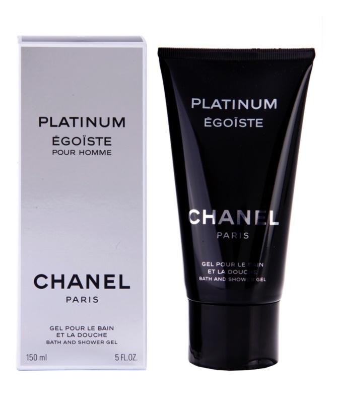 Chanel Égoïste Platinum gel douche pour homme 150 ml