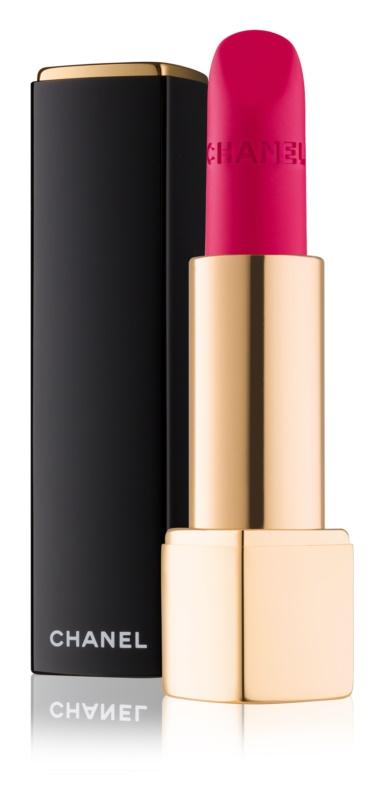 Chanel Rouge Allure Velvet sametová rtěnka s matným efektem